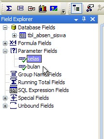 how to add parameter field in crystal report in vb.net